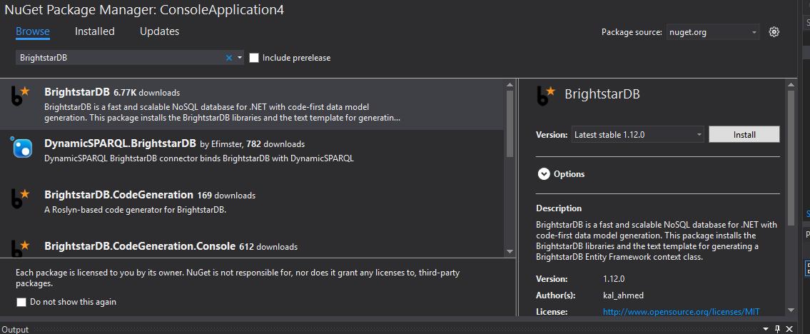 Entity Framework — BrightstarDB 1 13 documentation
