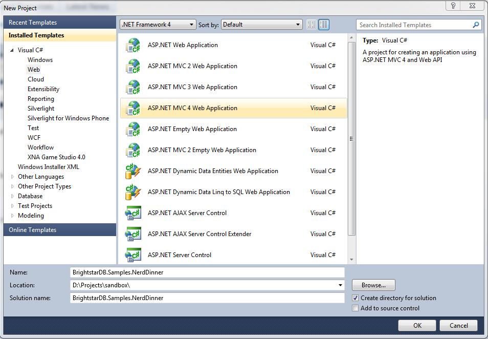 Entity Framework Samples — BrightstarDB 1 13 documentation